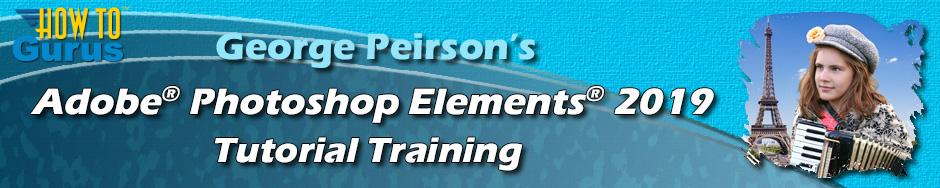 Photoshop Elements 2019 Training
