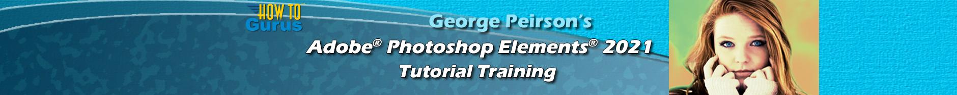 Photoshop Elements 2021 Training